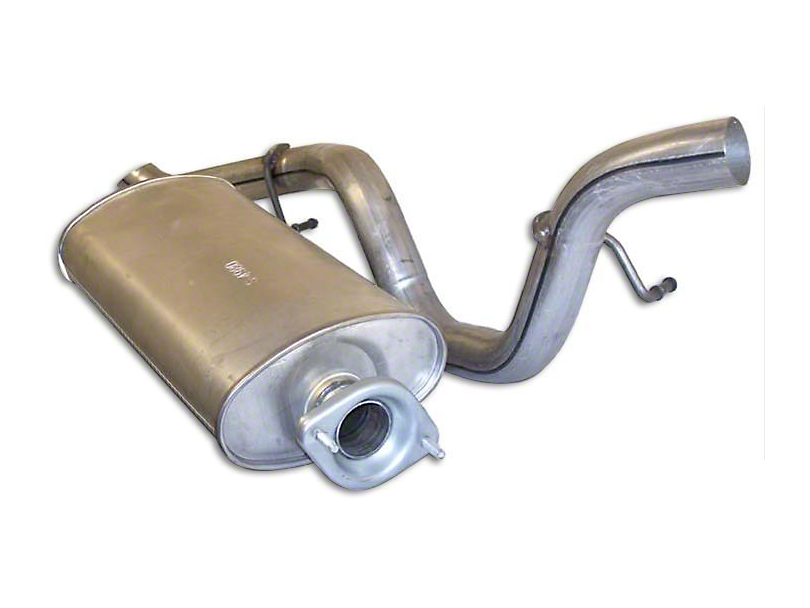 Replacement Muffler & Tailpipe (1/24/00 4.0L Jeep Wrangler TJ)