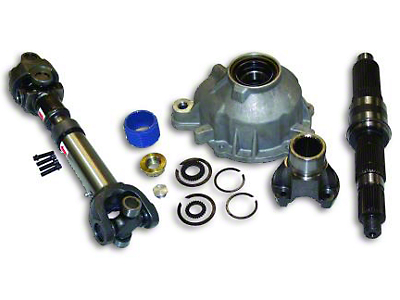 RT Off-Road Slip Yoke Eliminator & Shaft Kit (97-06 Wrangler TJ w/ NP231 Transfer Case, Excluding Unlimited)