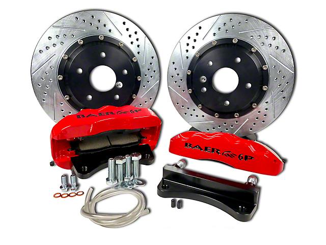 Baer Pro Plus Front Brake Kit - Silver (07-18 Wrangler JK)