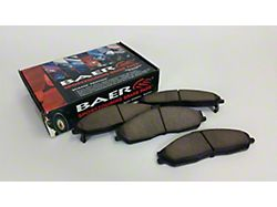Baer Sport Brake Pads; Rear Pair (07-18 Jeep Wrangler JK)