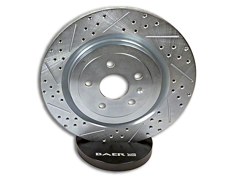 Baer Sport Drilled & Slotted Rotors - Front Pair (99-06 Jeep Wrangler YJ & TJ)