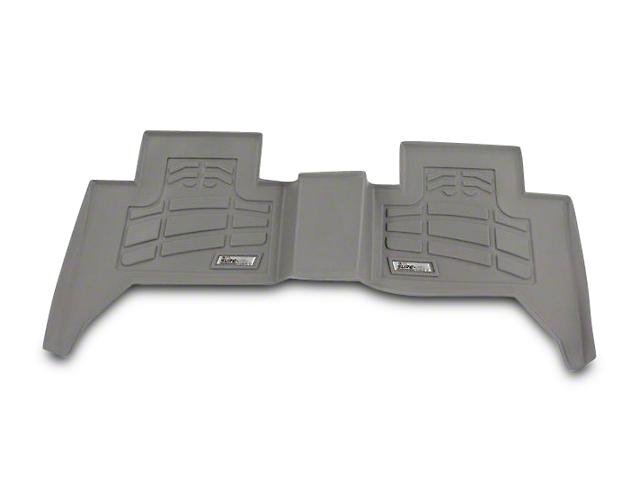 Wade Sure-Fit Front Floor Mats - Gray (07-18 Jeep Wrangler JK)