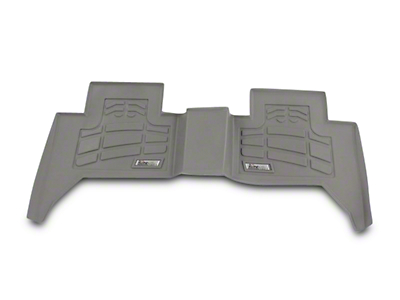 Wade Sure-Fit Front Floor Liners - Gray (07-18 Jeep Wrangler JK)