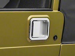 Chrome Full Steel Door Paddle Handle (87-95 Jeep Wrangler YJ LH, 97-06 Jeep Wrangler TJ RH)