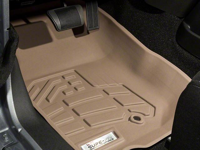 Wade Sure-Fit Front Floor Liners - Tan (07-18 Jeep Wrangler JK)