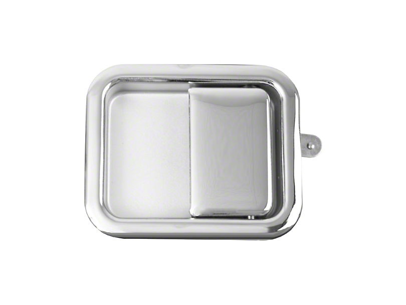 Chrome Full Steel Door Paddle Handle (87-95 Jeep Wrangler YJ RH, 97-06 Jeep Wrangler TJ LH)
