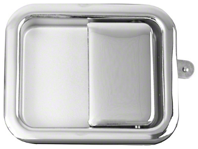 Omix-ADA Chrome Full Steel Door Paddle Handle (87-95 Wrangler YJ RH, 97-06 Wrangler TJ LH)