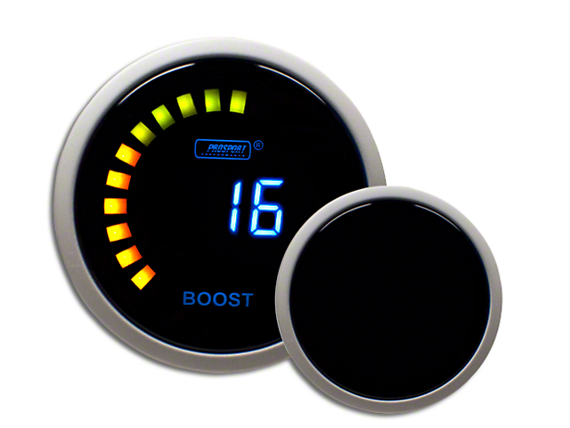 Prosport Digital 45 PSI Boost Gauge - Electrical (97-18 Wrangler TJ & JK)