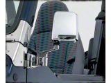 Smittybilt Chrome Half Door Side Mirrors (87-06 Jeep Wrangler YJ & TJ)