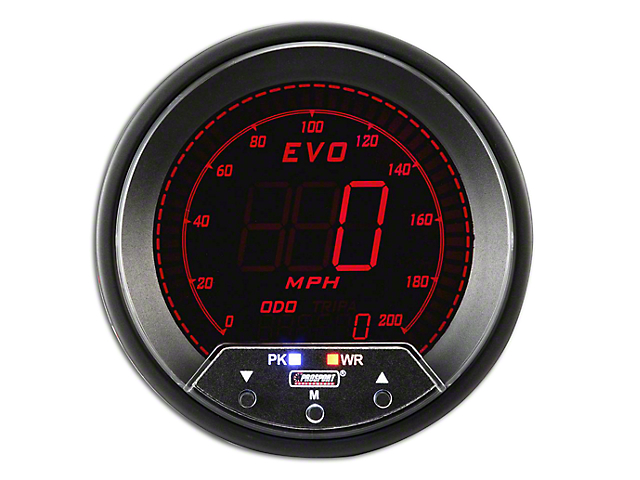 Prosport Quad Color Evo Speedometer - 85mm (Universal Fitment)
