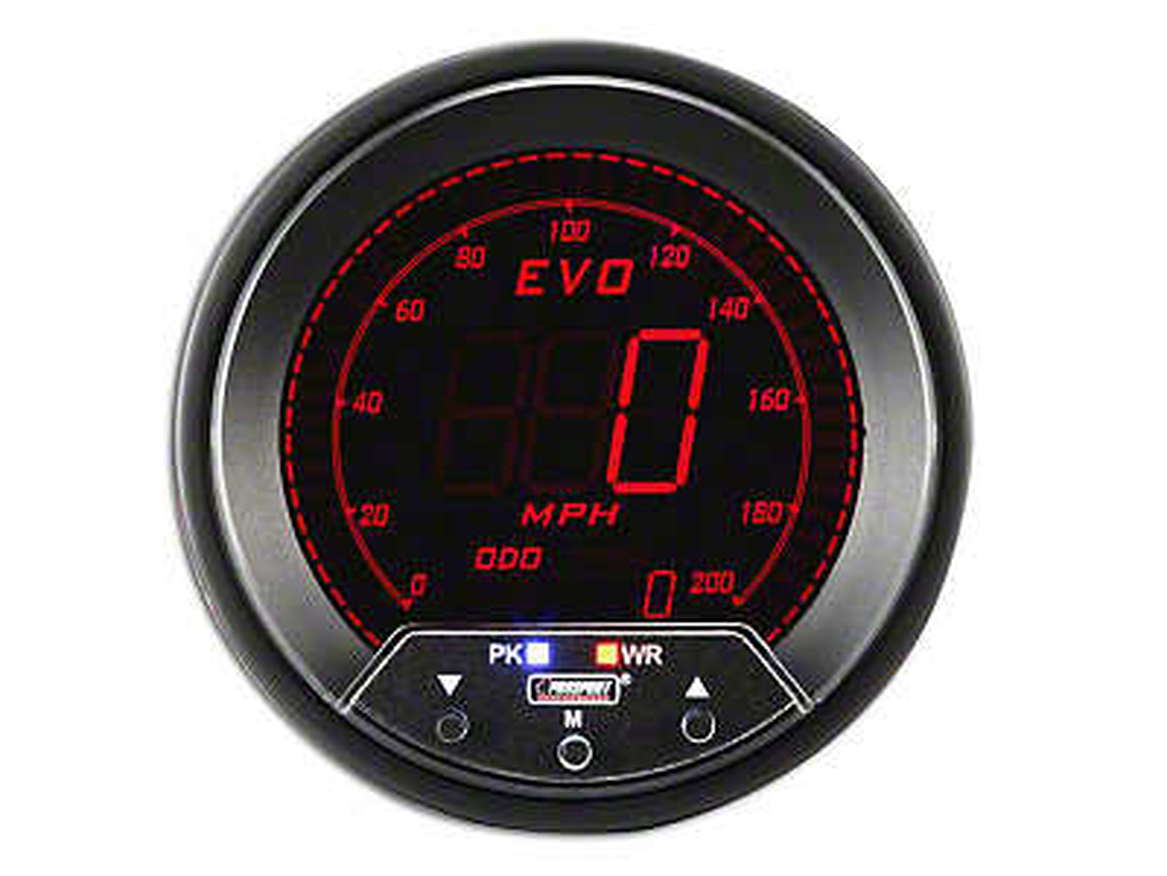 Prosport Quad Color Evo Speedometer - 85mm (97-18 Wrangler TJ, JK & JL)