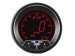Prosport 80mm Premium EVO Series Speedometer; 85mm (Universal Fitment)