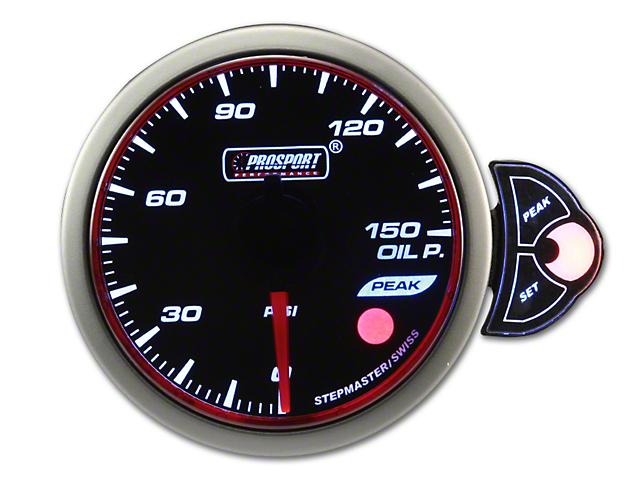 Prosport Halo Oil Pressure Gauge - Electrical (Universal Fitment)