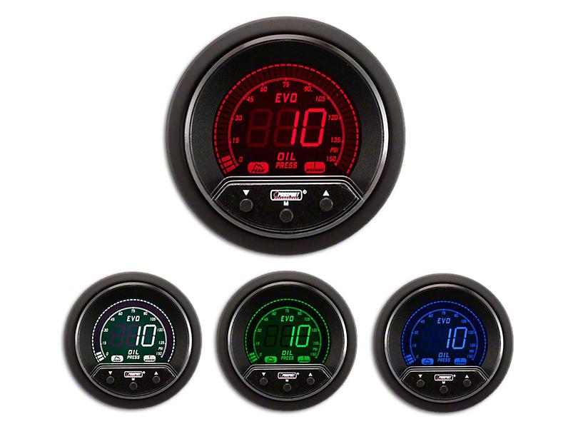 Prosport Premium Evo Oil Pressure Gauge - Electrical (Universal Fitment)
