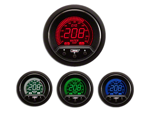 Prosport Premium Evo Water Temperature Gauge - Electrical (Universal Fitment)