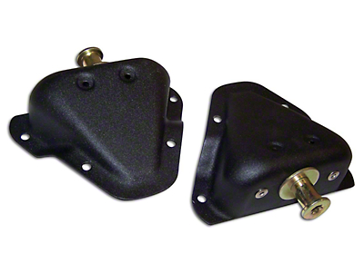 Omix-ADA Door Striker Kit - Left & Right (87-95 Jeep Wrangler YJ)
