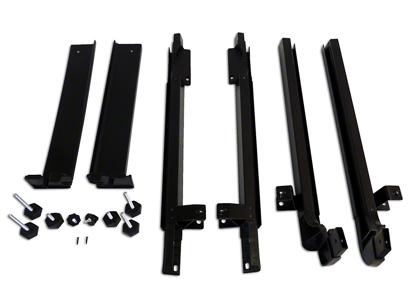RT Off-Road Door Surround Kit (07-18 Jeep Wrangler JK 4 Door w/o Sunrider Top)