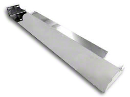 RT Off-Road Front Frame Cover - Stainless Steel (87-95 Wrangler YJ)
