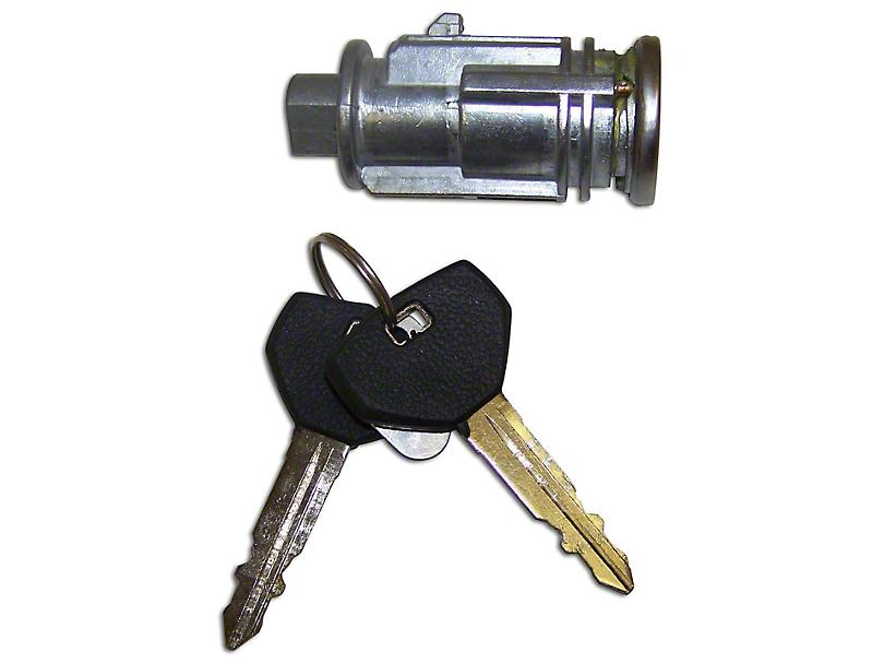 Ignition Cylinder w/ 2 Non-Transponder Keys (97-06 Jeep Wrangler TJ)