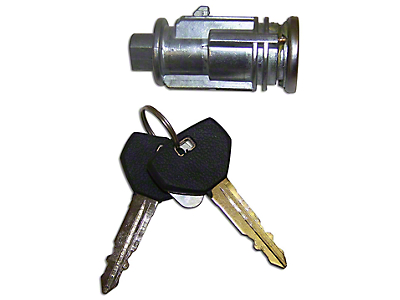 Crown Automotive Ignition Cylinder w/ 2 Non-Transponder Keys (97-06 Jeep Wrangler TJ)