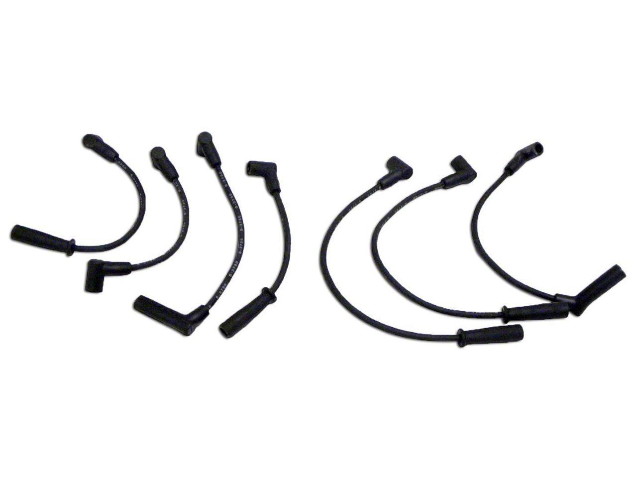Omix-ADA Ignition Wire Set (91-99 4.0L Jeep Wrangler YJ & TJ)