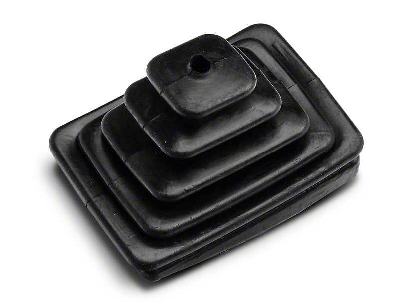 Manual Transmission Shifter Boot; Outer (97-04 Jeep Wrangler TJ)