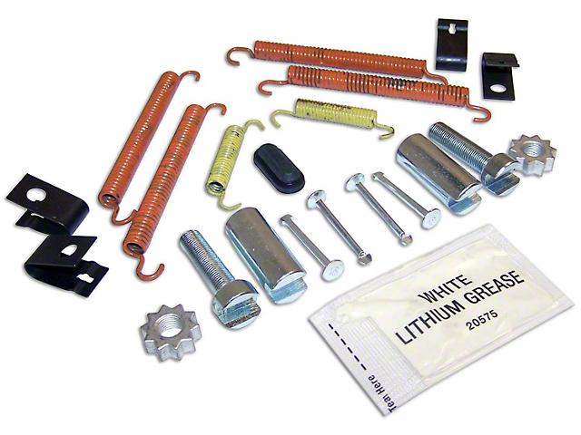 Parking Brake Hardware Kit (07-18 Jeep Wrangler JK)