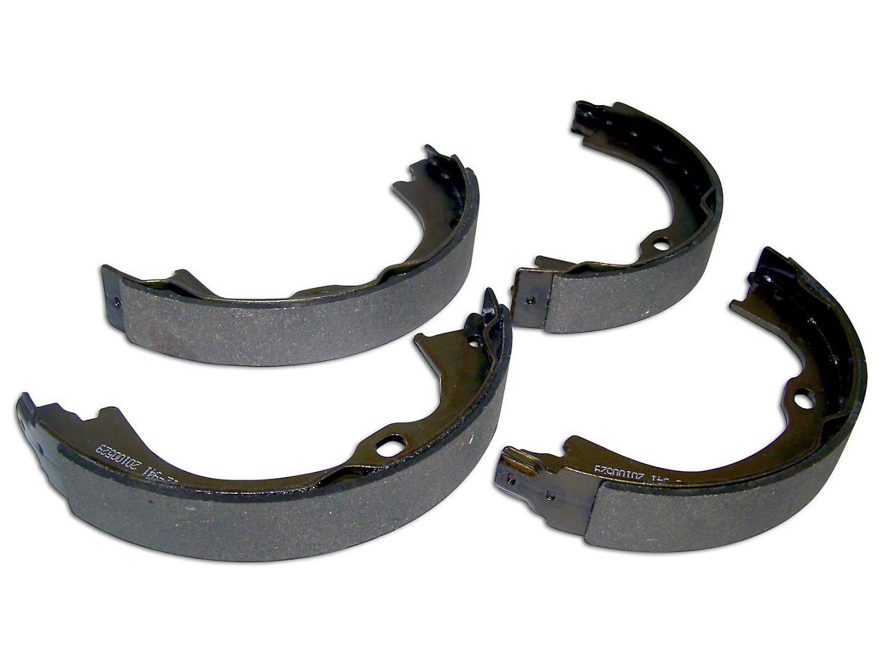 Parking Brake Shoe & Lining Set (07-18 Jeep Wrangler JK)