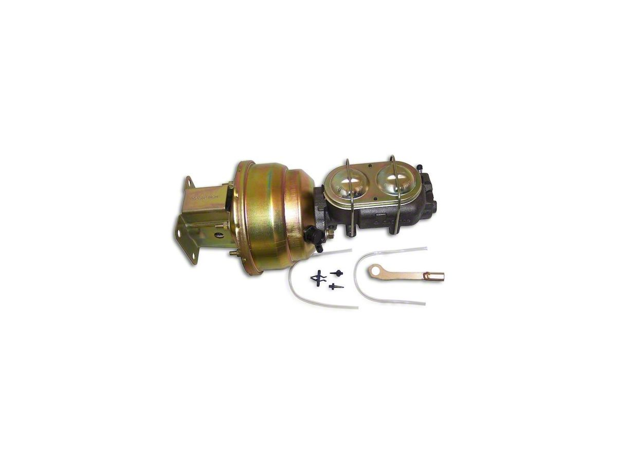 Power Brake Booster Conversion Kit for Aftermarket Axles (87-90 Jeep  Wrangler YJ w/o ABS)