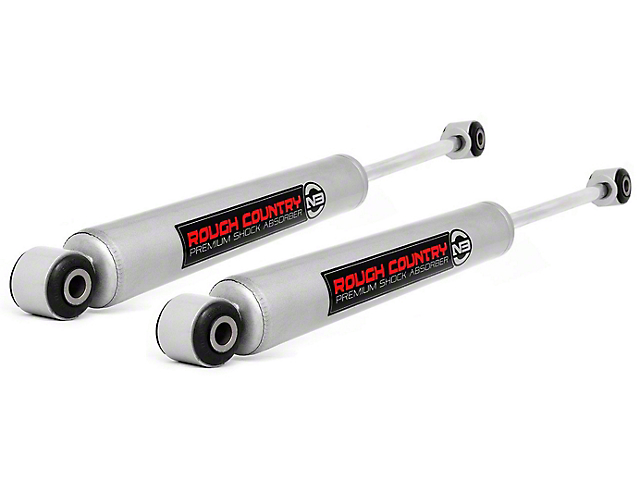 Rough Country Premium N3 Front Shocks for 3-4 in. Lift (07-18 Jeep Wrangler JK)