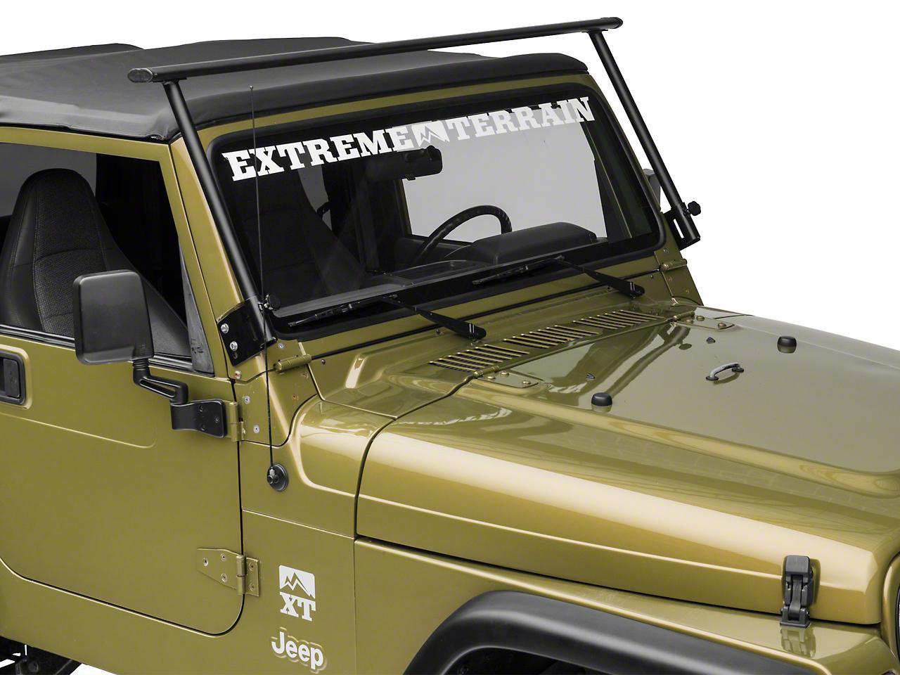 Lange Front Rack Frame (87-18 Jeep Wrangler YJ, TJ & JK)