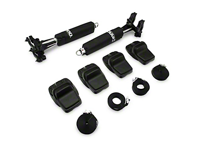 Lange Large Kayak Mount for the Lange Rack (87-18 Jeep Wrangler YJ, TJ, JK & JL)