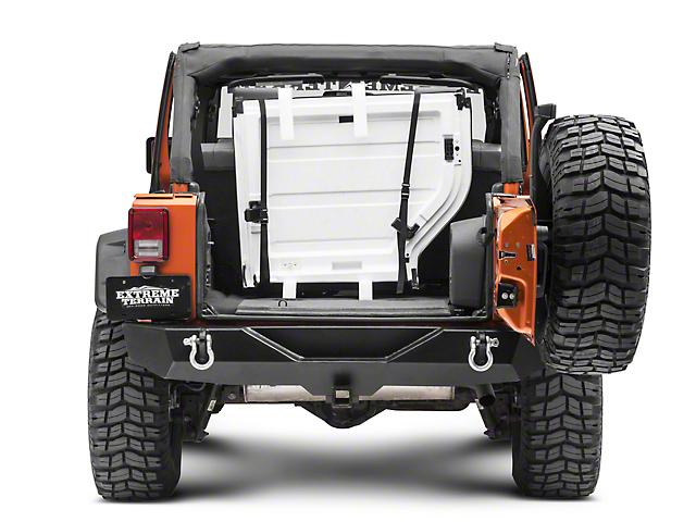 lange jeep wrangler roof panel storage system for trunk 220-500 (07