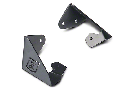ZRoadz 3 in. LED Light Cube A-Pillar Mounting Brackets (07-18 Jeep Wrangler JK)