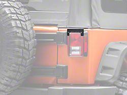 ZRoadz 3 in. LED Light Cube Rear Tail Light Mounting Brackets (07-18 Jeep Wrangler JK)