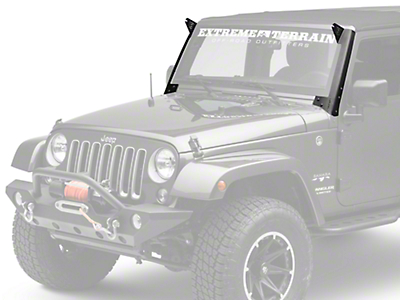 ZRoadz 52 in. LED Light Bar Roof Level Mounting Brackets (07-18 Jeep Wrangler JK)