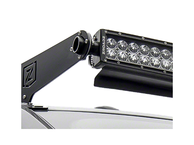 ZRoadz 52 in. Curved LED Light Bar Noise Cancelling Wind Diffuser (87-18 Wrangler YJ, TJ, JK & JL)