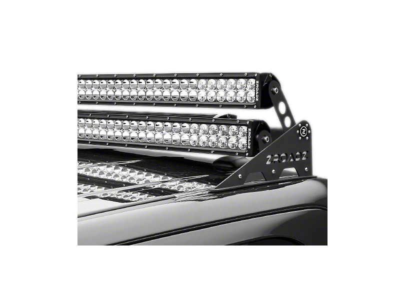 ZRoadz Modular Roof Add-On Dual LED Light Bar Mount