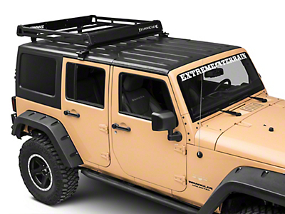 Barricade Removable Hard Top Roof Basket (07-18 Wrangler JK; 2018 Wrangler JL)