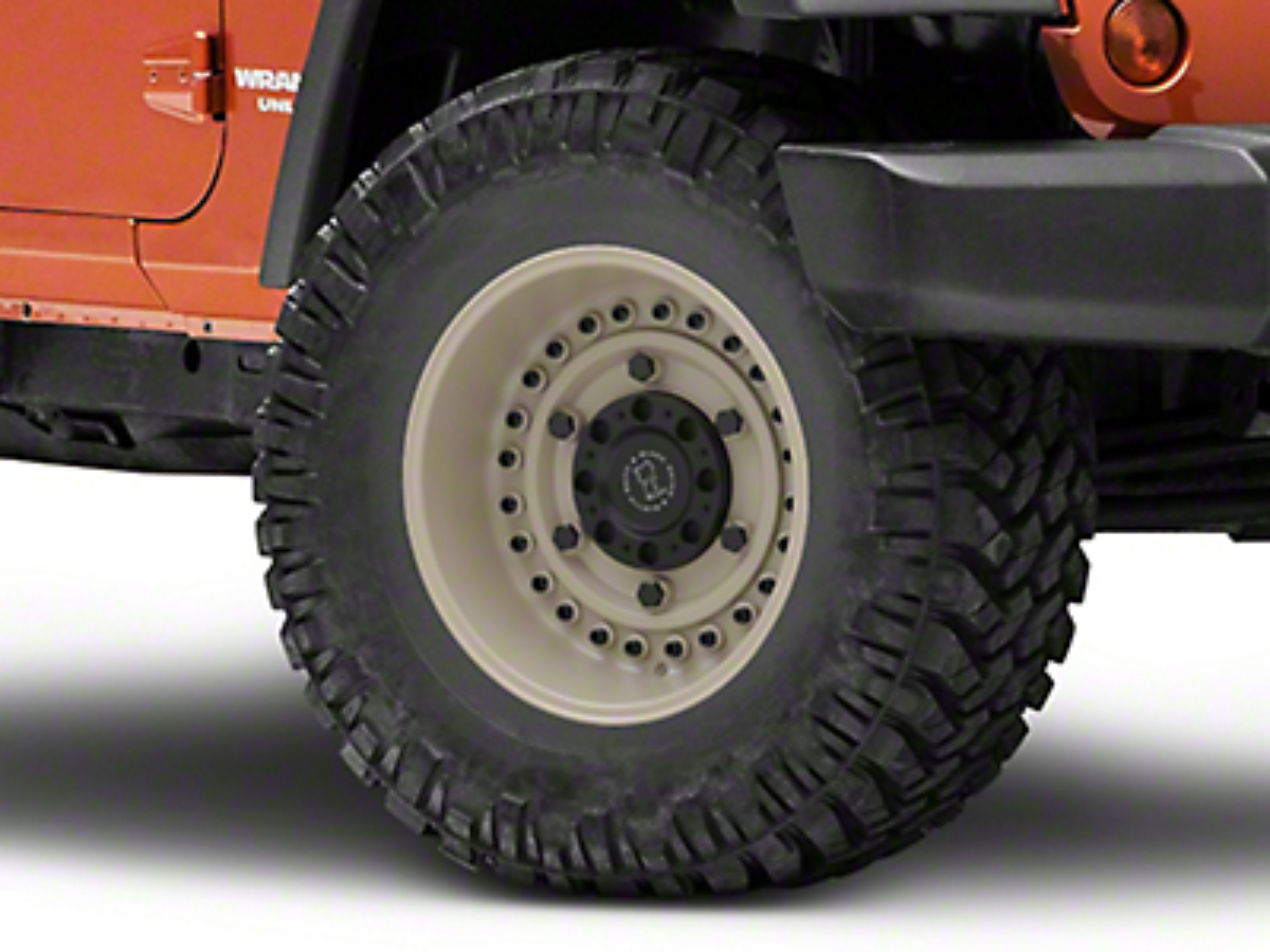 Black Rhino Armory Desert Sand Wheel - 17x9.5 (07-18 Jeep Wrangler JK; 2018 Jeep Wrangler JL)