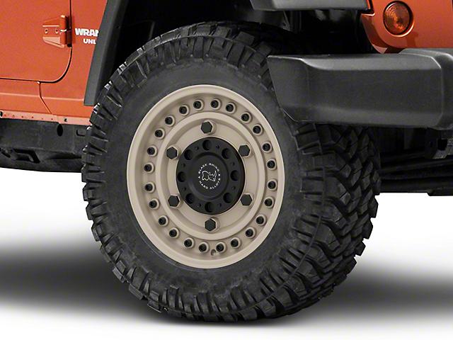 Black Rhino Armory Desert Sand Wheel - 18x9.5 (07-18 Jeep Wrangler JK)
