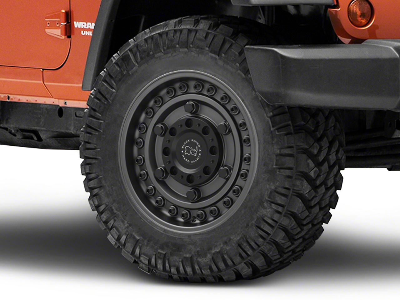 Black Rhino Armory Gunblack Wheel - 18x9.5 (07-18 Jeep Wrangler JK; 2018 Jeep Wrangler JL)