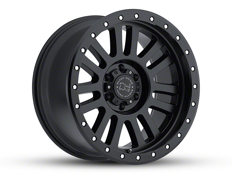 Black Rhino El Cajon Matte Black Wheel - 17x9 (18-19 Jeep Wrangler JL)