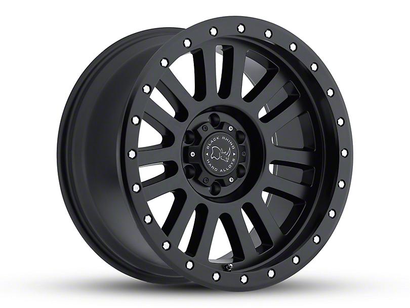 Black Rhino El Cajon Matte Black Wheel - 20x10 (18-20 Jeep Wrangler JL)