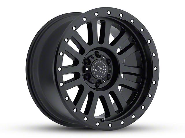 Black Rhino El Cajon Matte Black Wheel; 20x10 (18-20 Jeep Wrangler JL)