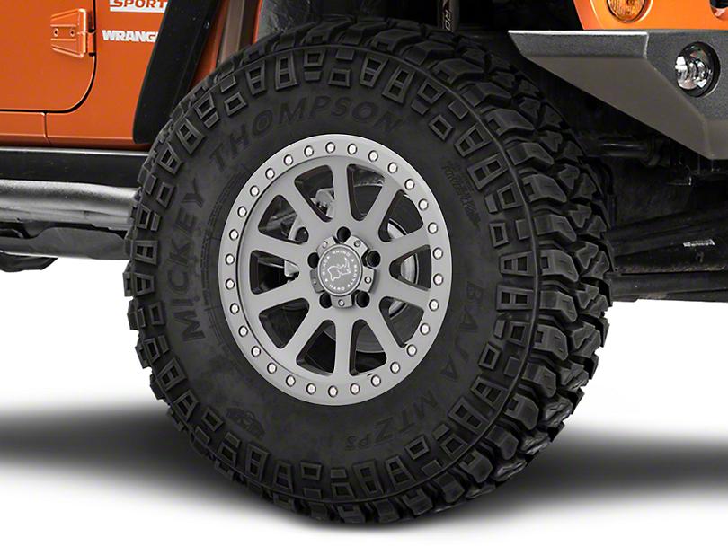 Black Rhino Mint Gloss Graphite Wheel - 17x9 (07-18 Jeep Wrangler JK)