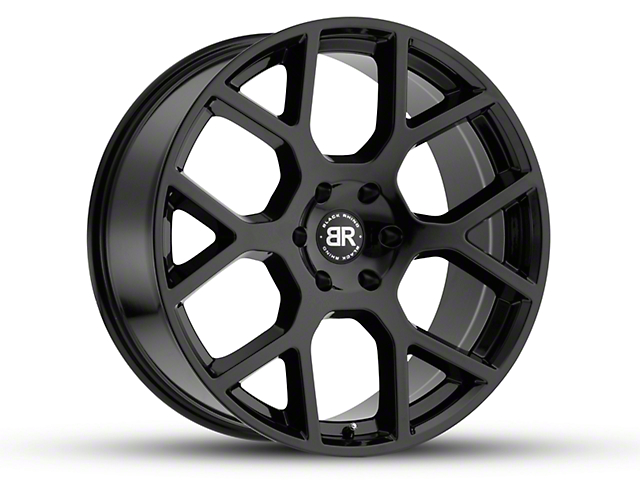 Black Rhino Tembe Gloss Black Wheel; 20x9 (18-20 Jeep Wrangler JL)