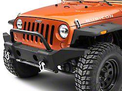 RedRock 4x4 Avenger Full Width Front Bumper w/o Winch Plate (07-18 Jeep Wrangler JK)