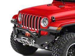 RedRock 4x4 Rock Crawler Full Width Front Bumper w/ Winch Mount (18-20 Jeep Wrangler JL)