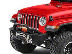 RedRock 4x4 Crawler Stubby Front Bumper w/ Winch Mount (18-19 Jeep Wrangler JL)